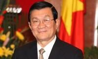 Staatspräsident Sang trifft neue Botschafter aus zehn Ländern